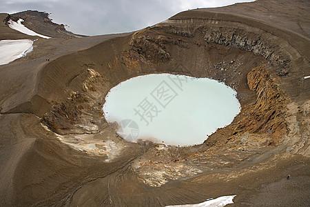 维提火山口湖图片