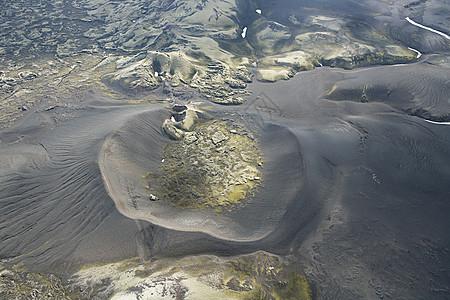 火山口图片