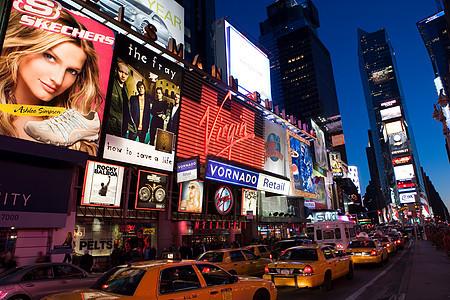 纽约百老汇和时代广场图片
