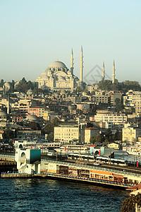 伊斯坦布尔和苏莱曼尼耶清真寺图片