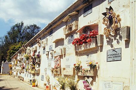 危地马拉安提瓜纪念墙图片