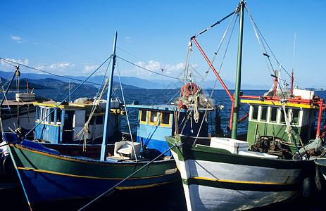 巴西的渔船图片