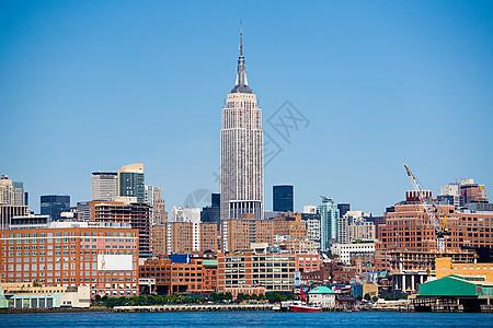 纽约天际线与帝国大厦图片