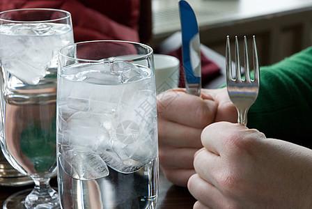 刀叉手图片