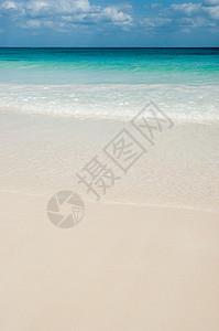 墨西哥图伦空海滩图片