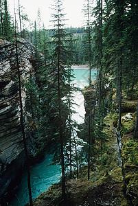 落基山脉的湖泊图片