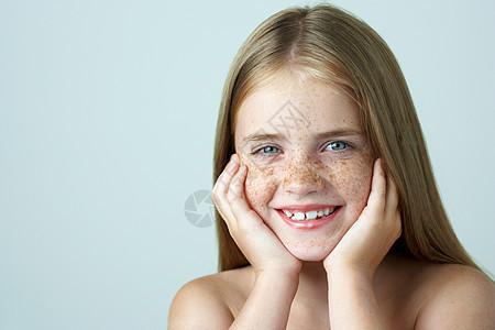 少女的肖像图片