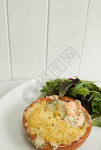 虾鱼派图片