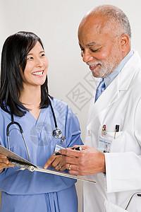 医生和护士图片