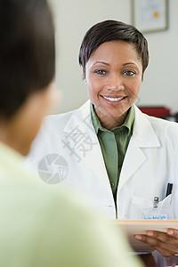 医生和病人图片