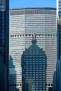 曼哈顿大都会和赫尔姆斯利大厦图片