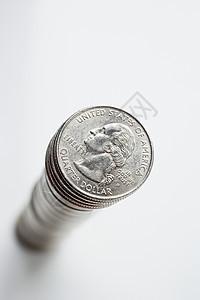 一堆硬币图片