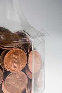 一分钱硬币图片