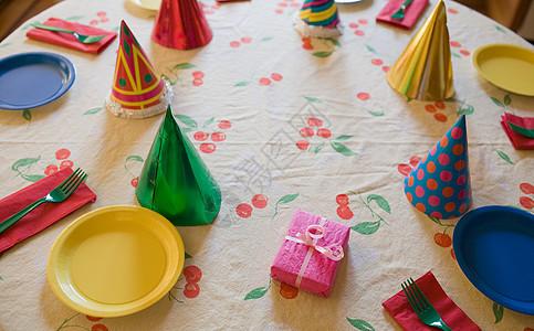 生日桌图片