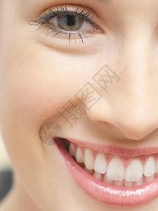 微笑的女人图片