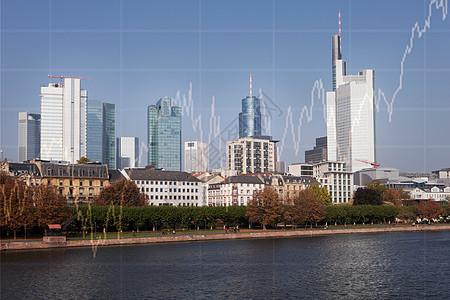 法兰克福天际线图片