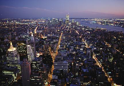 纽约航拍图片