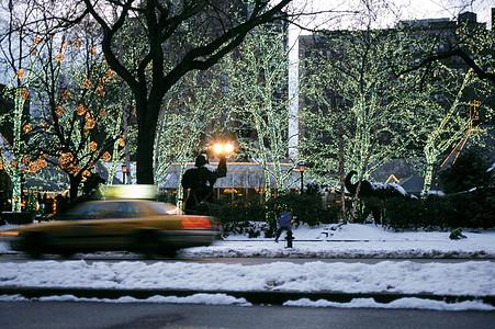 圣诞节中央公园图片