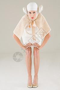 白羊座女孩图片