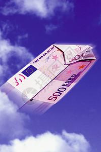 欧元纸币图片