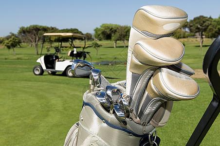 高尔夫球棒图片