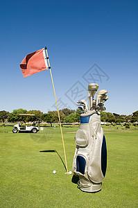 高尔夫球袋图片