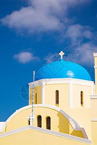 希腊教堂图片
