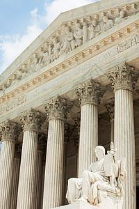 美国华盛顿特区最高法院大楼图片