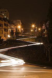 晚上的伦巴德街图片