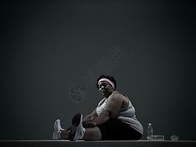 肥胖的女人图片