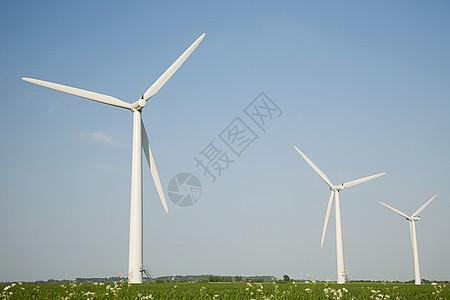 风力发电场图片