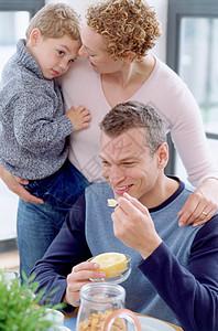 吃早餐图片