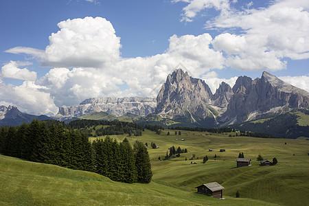 意大利南蒂罗尔阿尔托阿利奇风景如画图片