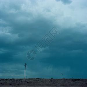 美国亚利桑那州风暴云图片