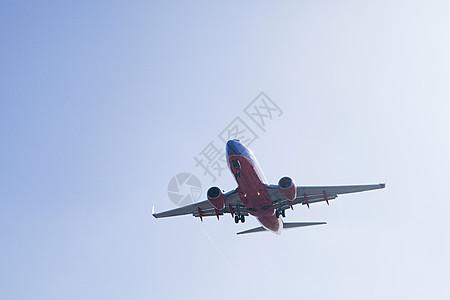 美国加利福尼亚州洛杉矶机场航行的飞机图片