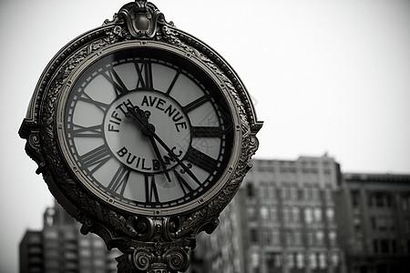 第五大道时钟图片