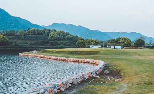 杭州市富阳区富春山居度假村高尔夫球场图片