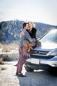 美国加利福尼亚州奇劳营地情侣图片