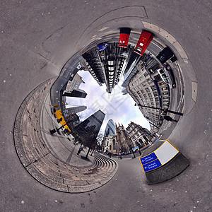具有隧道效应的伦敦市图片