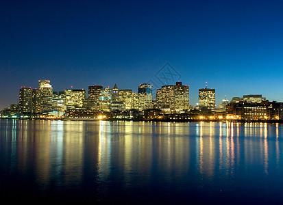 波士顿天际线,美国图片