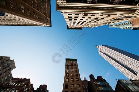 美国纽约帝国大厦图片