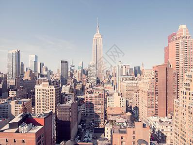 纽约帝国大厦图片