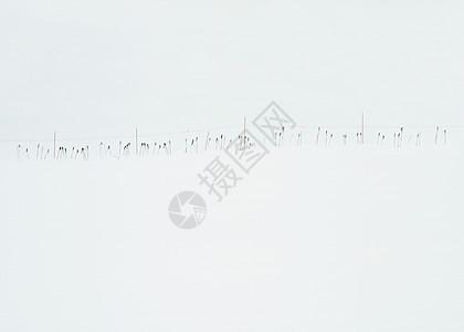 在美国雪里塔霍湖加利福尼亚的滑雪杆图片