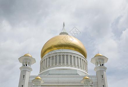 文莱巴加湾苏丹奥马尔·阿里·赛福丁清真寺图片