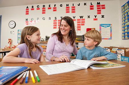 教师辅导学生图片