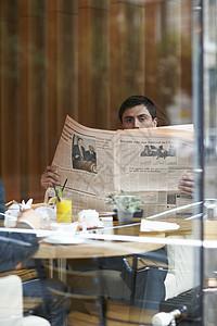 餐馆里的商人图片