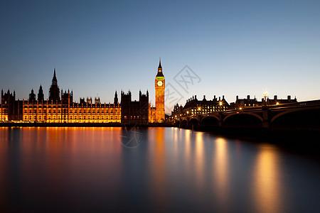 伦敦议会和大本钟图片