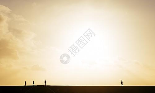 英国多塞特莱姆里吉斯日落时分图片