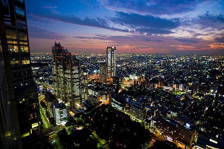 城市景观的鸟瞰图图片