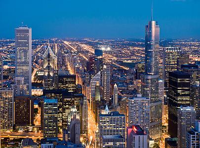 美国伊利诺伊州芝加哥市中心图片